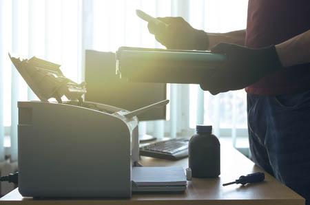 ремонт принтера и заправка
